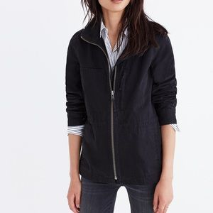Madewell Fleet utility Jacket Black Wash Small